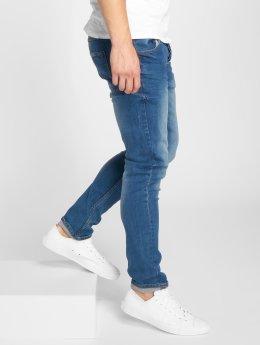 Solid Slim Fit Jeans Joy Blue102 blauw