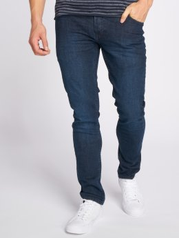 Solid Slim Fit Jeans Joy Blue103 blauw