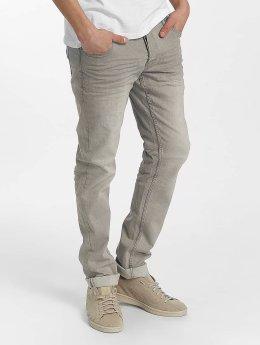 Solid Slim Fit Jeans Joy Stretch grau