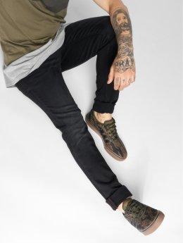Solid Slim Fit Jeans Joy Black117 schwarz