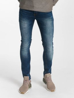 Solid Straight Fit Jeans Dexter blau