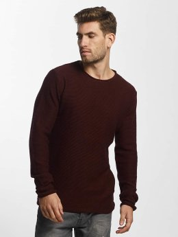 Solid Sweat & Pull Jarah Knit rouge
