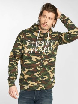 Solid Sweat capuche Nesar camouflage
