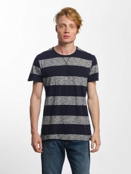 Solid t-shirt Joplin blauw