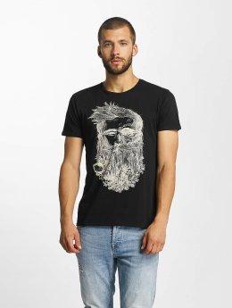Solid T-Shirt Javin schwarz