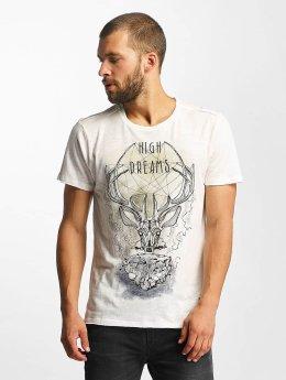Solid T-Shirt Jab weiß