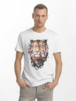 Solid T-Shirt Macon weiß