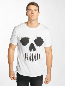 Solid T-Shirt Newt white