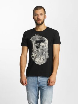 Solid t-shirt Javin zwart