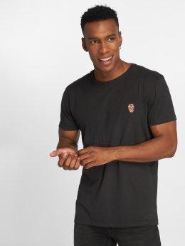 Solid t-shirt Santino zwart