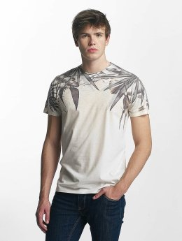 Solid T-shirts Manny beige