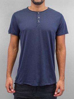 Solid T-shirts Barron  blå