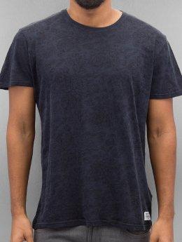 Solid T-shirts Gerard blå