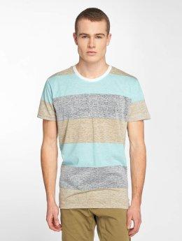 Solid T-shirts Nishan blå