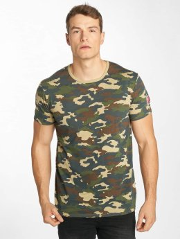 Solid T-shirts Nilsson camouflage