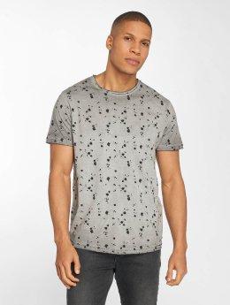Solid T-shirts Newton grå