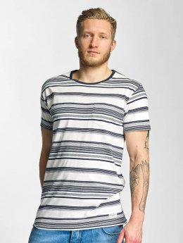 Solid T-shirts Halstoll hvid