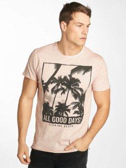 Solid T-shirts November rosa