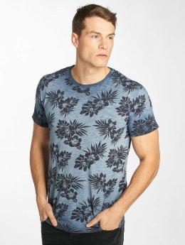 Solid T-skjorter Nuriel blå
