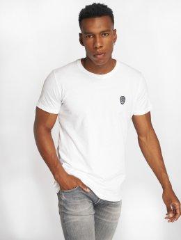 Solid T-skjorter Santino hvit