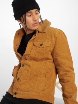 Solid Transitional Jackets Sten beige