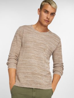 Solid trui Raleigh Knit beige