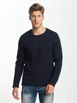 Solid trui Jagu blauw