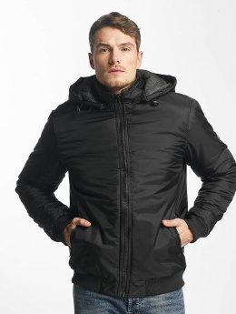 Solid Veste mi-saison légère Korin noir