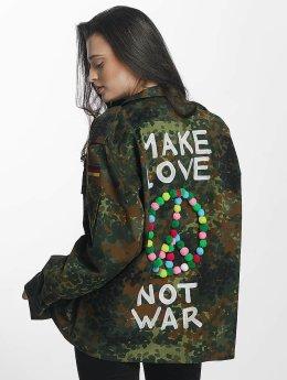 Soniush Giacca Mezza Stagione Peace Jacket mimetico