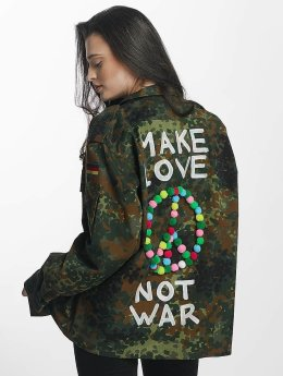 Soniush Frauen Übergangsjacke Peace Jacket in camouflage