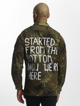 Soniush Männer Übergangsjacke Started in camouflage