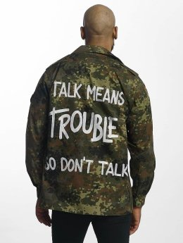 Soniush Männer Übergangsjacke Trouble in camouflage