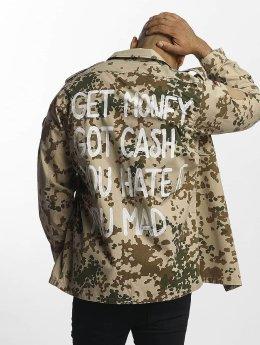 Soniush Välikausitakit Cash camouflage