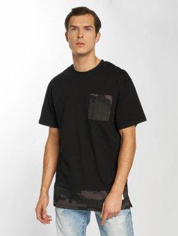 Southpole Camiseta Pocket negro