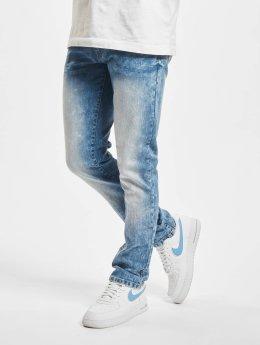 Southpole dżinsy przylegające Flex Basic niebieski