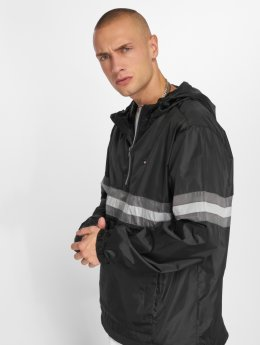 Southpole Lightweight Jacket Wind Series Color Stripe black