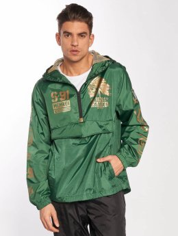 Southpole Lightweight Jacket Metallic green