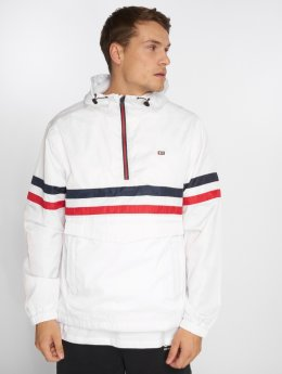Southpole Lightweight Jacket Wind Series Color Stripe white