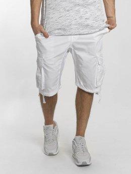 Southpole Pantalón cortos Jogger blanco