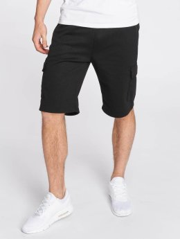 Southpole Pantalón cortos Tech Fleece negro