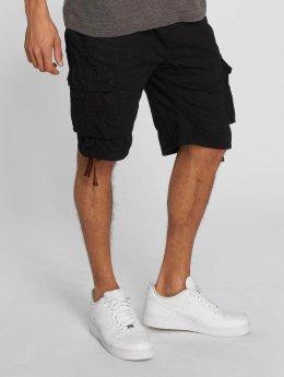 Southpole Pantalón cortos Jogger Cargo negro