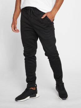 Southpole Pantalone ginnico Basic Tech Fleece nero