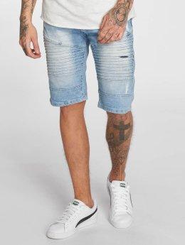 Southpole Short Denim Shorts bleu