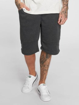 Southpole Shorts Biker Fleece grau