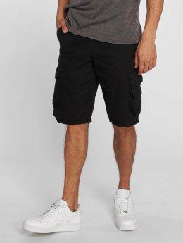 Southpole Shorts Twill Cargo schwarz