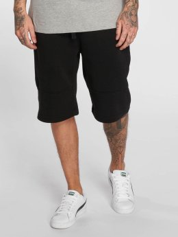 Southpole Shorts Biker Fleece schwarz