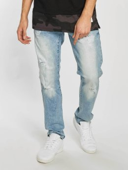 Southpole Skinny Jeans Ripped Stretch Denim blau