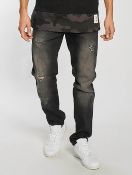 Southpole Skinny jeans Ripped Stretch Denim svart