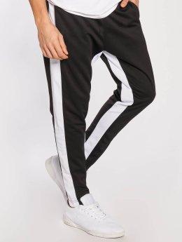 Southpole Spodnie do joggingu Contrast Side Panel czarny