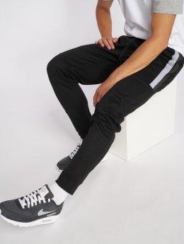 Southpole Spodnie do joggingu Color Block Tech Fleece czarny